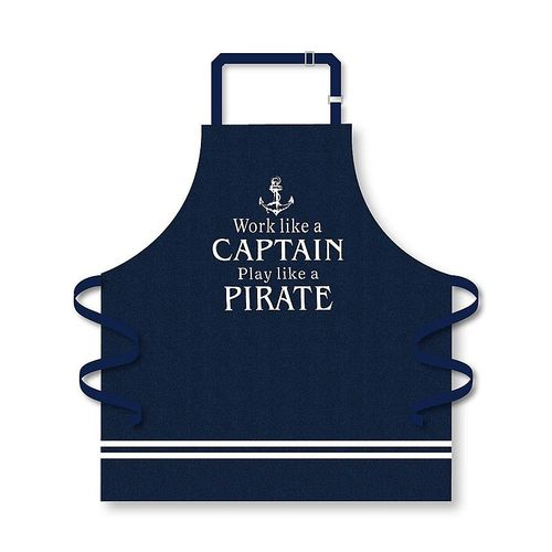 Captain and Pirate apron