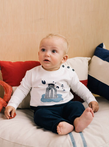 Walrus shirt and pants for toddlers