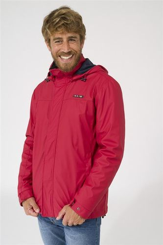 Men's raincoat with fleece lining