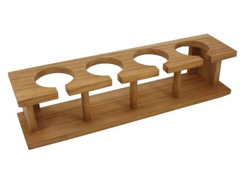 Wineglass holder for four, 39x9.5x9.5cm