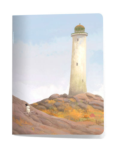 Moomin booklet lighthouse Our sea